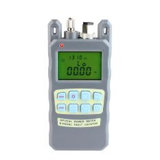 Máy đo công suất quang kèm đèn soi VFL 3-5km AUA-80A