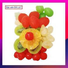 Mứt Trái Cây Kiwi, Jerry, Đào Sữa, Chanh Non,… Hộp 8 vị Chua Ngọt (500 gram) – Đặc Sản Đà Lạt Cao Cấp Cho Mọi Nhà.