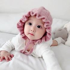Mũ len tai bèo công chúa cho bé siêu xinh