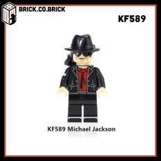 KF6047 – Đồ chơi lắp ráp minifigures – mô hình và lego cố ca sĩ nhạc pop nổi tiếng nhân vật Michael Jackson – Đồ chơi lắp ráp minifigures và non lego mô hình lắp ráp sáng tạo