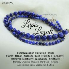 Vòng Tay Đá Thiên Nhiên Lapis Lazuli CTjade *| 2003041
