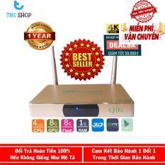Android Tivi Box Ultra HD Q9s Ram 1G RK3128 tặng kèm Chuột Không Dây Cao Cấp Forter V181
