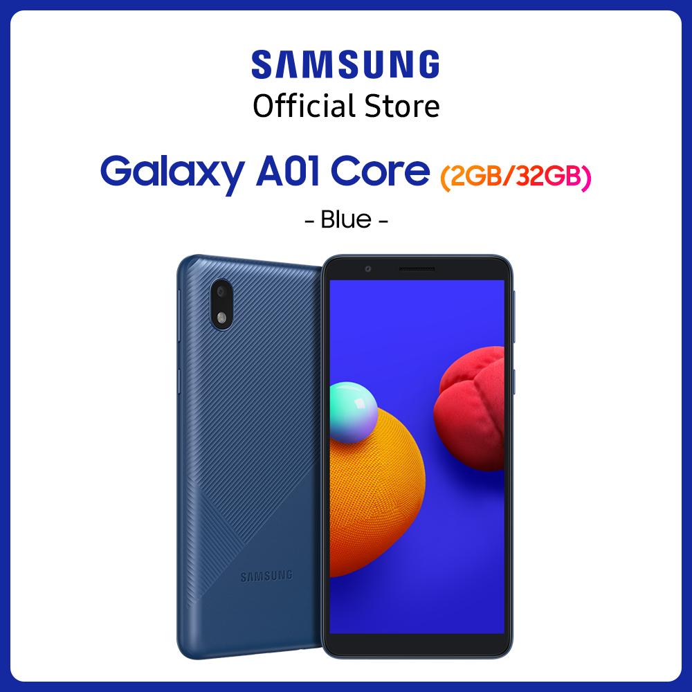 Điện thoại Samsung Galaxy A01 Core (2GB/32GB) – Màn hình chuẩn HD+ – Mới 100% – Bảo Hành 12 tháng – Miễn phí vận chuyển