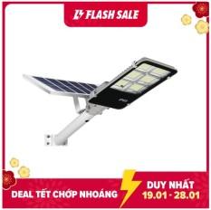 Đèn đường năng lượng mặt trời tấm pin rời 300W Có remote Có giá đỡ gắn đèn BH 12 tháng IP65 430 led