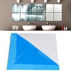 Gương dẻo dán tường kích thước 30*30 cm – Trang trí phòng – Không sợ vỡ, dán được nhiều bề mặt, thân thiện môi trường – Không bị méo, soi được nửa người