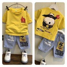 Áo phông cho bé mẫu gấu trúc
