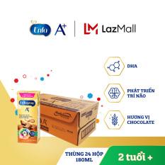Thùng 24 hộp sữa nước Enfagrow 4 vị Chocolate 180ml cho trẻ trên 2 tuổi – Giới hạn 5 sản phẩm/khách hàng