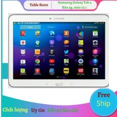 Máy tính bảng Samsung Galaxy Tab 4 10.1 bản wifi tặng đế dựng [add sẵn 2 phần mềm học online tienganh123, luyenthi123 bản quyền trọn đời máy]