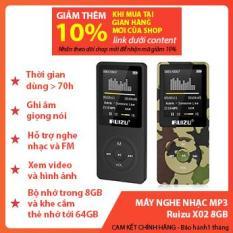 Máy Nghe Nhạc MP3 Ruizu X02 8GB