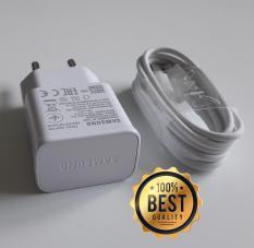 Bộ sạc nhanh Samsung A70 (Cam kết hàng Zin – có hướng dẫn phân biệt) (Fast Charging) (Adaptor trắng nhám + Cable chuẩn type C)