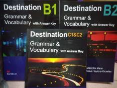 Sách Học Tiếng Anh – Combo Sách – Destination Grammar & Vocabulary B1, B2 Và C1&C2 (Bộ 3 Cuốn) – English Books For Everyone