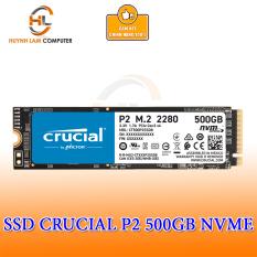 Ổ cứng SSD M2 NVMe 500GB Crucial P2 Gen3 x4 Chính hãng Vita Phân phối