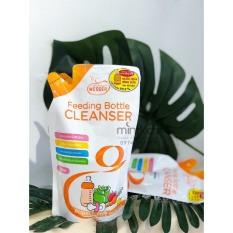 Nước rửa bình sữa Wesser gói 500 ml hương bưởi khử mùi hôi diệt khuẩn hàng chính hãng – BEEKIDS PLAZA