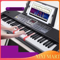 {TẶNG GIÁ ĐỠ ĐÀN} Đàn piano điện tử 61 phím cao cấp dành cho trẻ và người lớn mới học đàn.