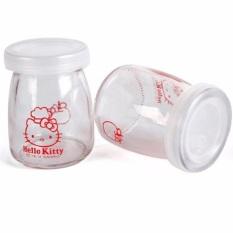 Sét 12 hủ thủy tinh làm sữa chua dễ thương 7 cm – Hũ Yaourt – Hủ thủy tinh làm sữa chua