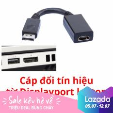 Cáp đổi Diplayport ra HDMI(Đen)