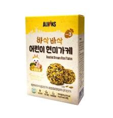 Gia vị rắc cơm cho bé vị gà 28g – Alvins (Từ 15 tháng tuổi)