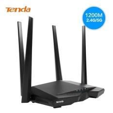 Thiết bị phát Wifi chuẩn AC 1200Mbps Tenda AC6 (Đen) – Hãng Phân phối chính thức