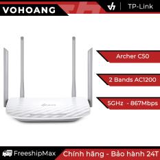 Router Wi-Fi băng tần kép AC1200 TP-LINK Archer C50 – Hãng phân phối chính thức