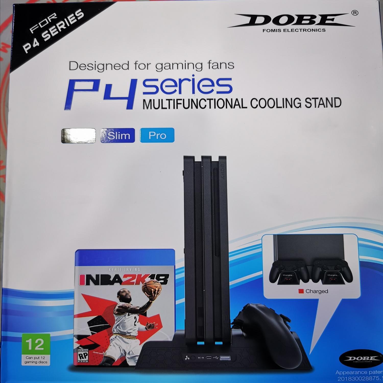 Đế Đứng Tản Nhiệt Dành Cho Máy PS4 Slim/PS4 Pro [Phiên Bản Mới]