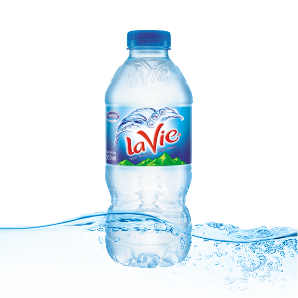 Nước khoáng lavie 350ml x10 chai