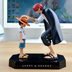 Bộ mô hình Luffy – Shanks (Cao 18cm )