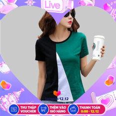 [DEAL HỦY DIỆT] [HOT SALE] Áo kiểu nữ, áo kiểu nữ xinh đẹp, áo kiểu nữ một nút tay dài thời trang (LƯU Ý: Màu Ngẫu Nhiên) & Áo Kiểu Nữ Phối Ghép Màu Thời Trang