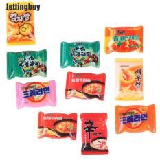 Jettingbuy 10 cái mô phỏng gói mì ăn liền bằng nhựa khoảng 2cm dành cho trẻ chơi đồ hàng – INTL