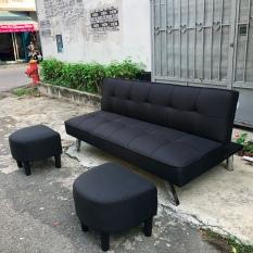 Sofa giường thông minh dài 1m7 chưa bao gồm ghế đôn