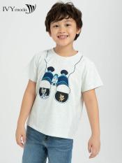 Áo thun Tom & Jerry in hình ống nhòm bé trai IVY moda MS 57K1215