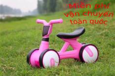 Xe đạp, Đồ chơi, Xe lắc, Xe chòi chân, Xe Chòi Chân 4 Bánh Tự Cân Bằng Cho bé , Xe chòi chân có đèn và nhạc mini cao cấp. Hỗ trợ cho bé giữ thăng bằng một cách dễ dàng