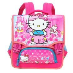 Cặp học sinh chống gù cho bé gái hình Mèo Kitty MITI 11063