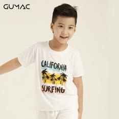 Áo thun bé trai GUMAC thiết kế in California AKA840