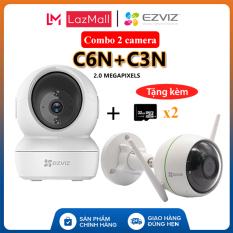 [EZVIZ CHÍNH HÃNG] Combo 2 camera C6N + C3N kèm thẻ 32GB (2.0 Megapixels) – EZVIZ Hoang Nguyen Authorized Store