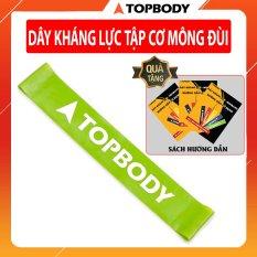 Dây miniband kháng lực tập cơ mông đùi, đàn hồi cao TOPBODY – MIBAL06- XL – QT