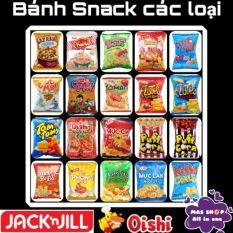 Bánh snack nhiều hương vị khác nhau Oshi® – Orion® – Jack n Jill® – Khoai tây vị bò nướg
