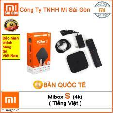 Android Tivi Mibox S (4K) Bản Quốc Tế – phân phối chính hãng tại Việt nam
