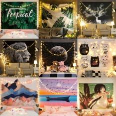 [TẶNG MÓC TREO + DÂY LED] Thảm treo tường trang trí, Decor phòng đẹp ( 150 x 130cm )