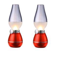 Bộ 2 đèn thờ xạc điện thổi – tắt, đèn cảm ứng bàn thờ, đèn thờ cảm ứng thổi tắt, đèn dầu điện tử cảm biến thổi tắt, đèn dầu led sạc thổi tắt Đèn thờ sạc điện, đèn bàn thờ sạc điện, đèn bàn thờ sạc điện hình đèn dầu, – Shoptuankiet