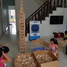 Thanh gỗ domino giá rẻ