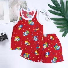 Bộ quần đùi bé trai Việt Thắng B62.2001 – Chất liệu lanh, mềm, nhẹ, mặc thoải mái