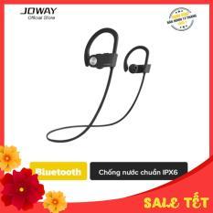 Tai nghe Bluetooth không dây thể thao Joway H50 chống mồ hôi, thấm nước tiêu chuẩn IPX6 cho điện thoại Android, iPhone – Hãng phân phối chính thức