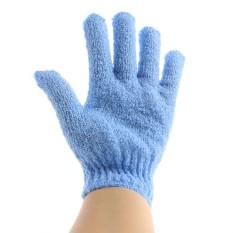 Combo 2 găng tay mát xa cơ thể khi tắm – bao tay chà lưng màu ngẫu nhiên