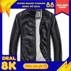 Áo Khoác Da Nam Lót Lông Pigo Fashion Chất Da Chuẩn Cfs Ad30 Cool 01 (Chọn Màu)