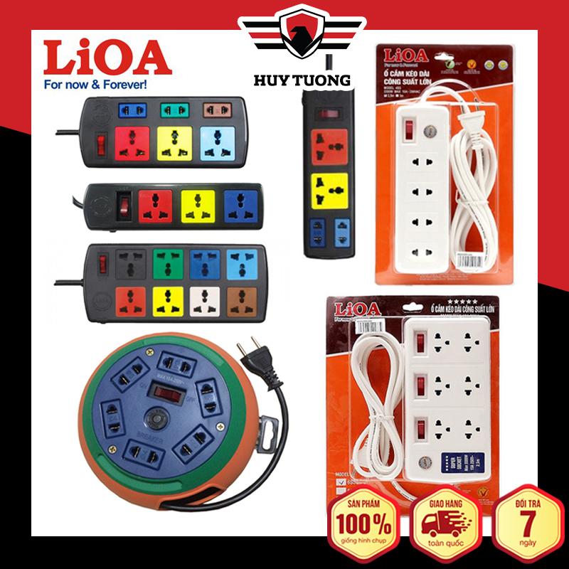 Ổ cắm có dây - Ổ điện an toàn - Ổ cắm điện đa năng - Ổ cắm điện Lioa...