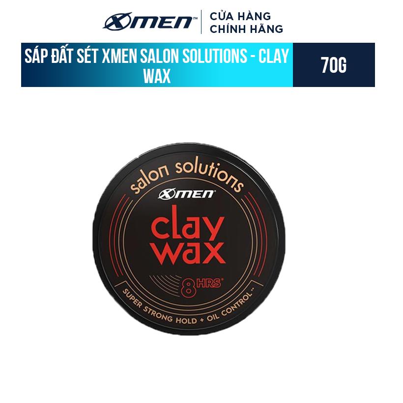 Sáp đất sét Xmen Salon Solutions – Clay Wax 70g