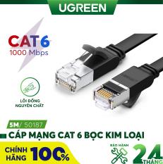 Cáp mạng Cat6 UTP 24AWG đầu bọc kim loại UGREEN NW101 – Hãng phân phối chính thức