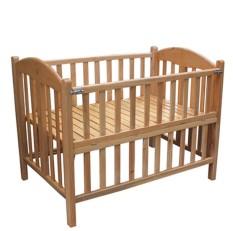 Nôi giường em bé 2 tầng gỗ sồi giá tại xưởng Nội Thất Tân Ngọc Châu tphcm