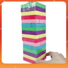 Đồ Chơi Noel – Dụng Cụ Giáo Dục Rút Gỗ Sắc Màu 54Pcs – Đồ Chơi Trẻ Em Toy Mart