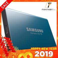 Ổ cứng di động SSD SAMSUNG T5 250GB MU-PA250B (Xanh)